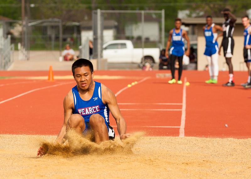 JV District Track Meet 2015
