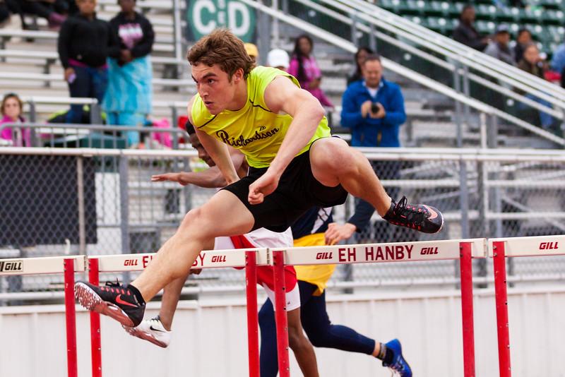 Varsity District Track Meet 2015
